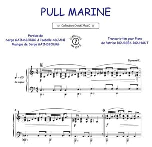 Pull Marine. Format - Serge Gainsbourg - Partition - laflutedepan.com