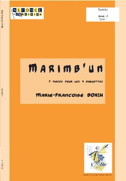 Marie-Françoise Bonin - Marimb'un - Sheet Music - di-arezzo.co.uk