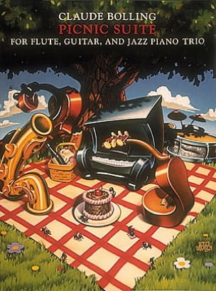 Claude Bolling - Picnic Suite Flute Guitar And Jazz Piano Trio - Sheet Music - di-arezzo.com