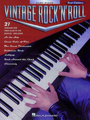 - Vintage Rock 'N' Roll Easy Piano - Sheet Music - di-arezzo.com