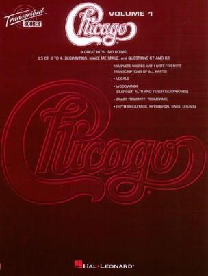 Chicago Volume 1 - 9 Songs Chicago Partition Pop / Rock - laflutedepan