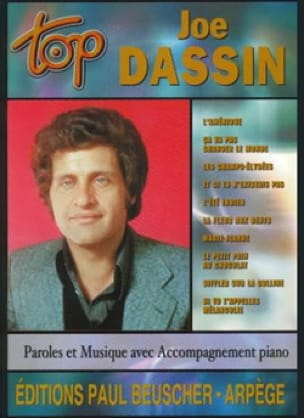 Joe Dassin - トップJoe Dassin - 楽譜 - di-arezzo.jp