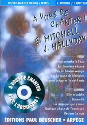 Mitchell E. / Hallyday J. - It's up to you to sing E. Mitchell and J. Hallyday - Sheet Music - di-arezzo.com