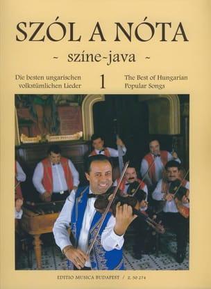 Szol A Nota Szine Java Volume 1 Partition Violon - laflutedepan