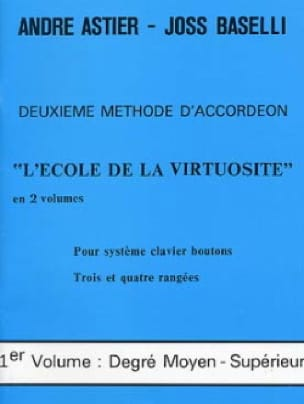 Astier André / Baselli Joss - The school of virtuosity volume 1 - Sheet Music - di-arezzo.com