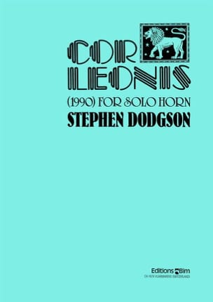 Stephen Dodgson - Cor Leonis 1990 - Sheet Music - di-arezzo.co.uk