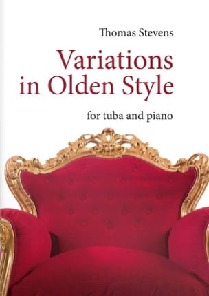 Thomas Stevens - Variations in olden style - Sheet Music - di-arezzo.co.uk