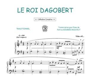 Roi Le Dagobert - Traditionnel - Partition - laflutedepan.com