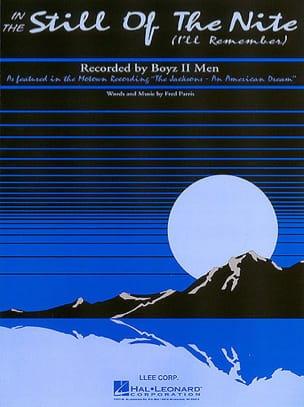 2 Men Boyz - In The Still Of The Night - Partition - di-arezzo.fr