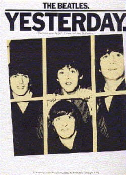 BEATLES - Yesterday - Sheet Music - di-arezzo.com