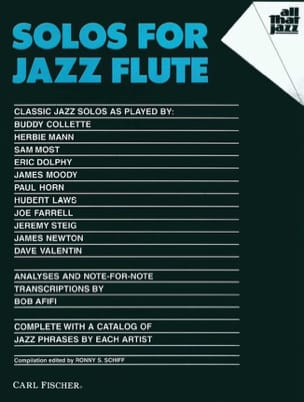 - Solos For Jazz Flute - Sheet Music - di-arezzo.co.uk