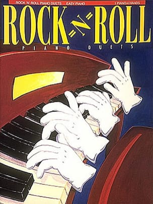 - Rock ' N ' Roll Piano Duets - Partition - di-arezzo.fr