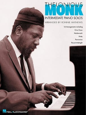 Thelonious Monk - Intermediate Piano Solos - Partition - di-arezzo.co.uk