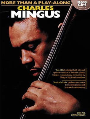Charles Mingus - More Than A Play Along - Bass Clef Edition - Sheet Music - di-arezzo.com
