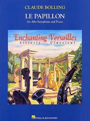 Le Papillon Claude Bolling Partition Saxophone - laflutedepan