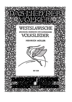 Westslawische Volkslieder Bohmische, Mahrische, Slowakische - laflutedepan.com