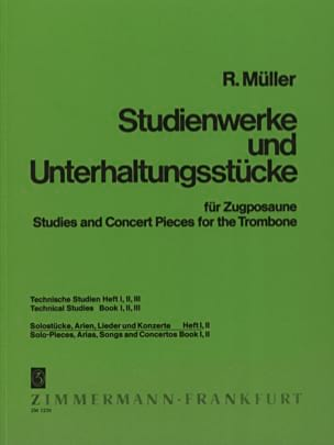 Robert Müller - Solostücke, Arien, Lieder - Konzerte Volume 1 - Sheet Music - di-arezzo.co.uk