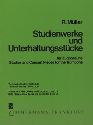 Robert Müller - Solostücke, Arien, Lieder & Konzerte Volume 1 - Partition - di-arezzo.fr