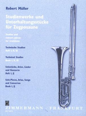 Robert Müller - Solostücke, Arien, Lieder - Konzerte Volume 2 - Sheet Music - di-arezzo.com