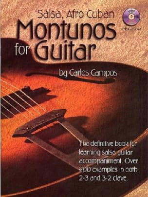 Carlos Campos - Salsa, Afro Cuban Montunos For Guitar - Sheet Music - di-arezzo.co.uk