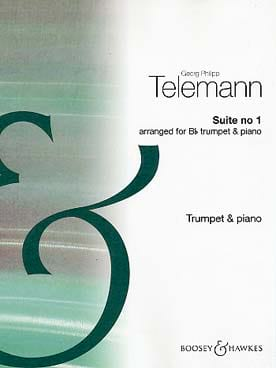 Georg Ph Telemann - Suite N° 1 - Partition - di-arezzo.fr