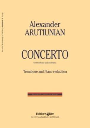 Concerto Alexander Arutiunian Partition Trombone - laflutedepan