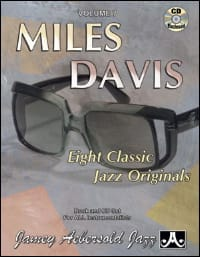 Volume 7 - Miles Davis METHODE AEBERSOLD Partition Jazz - laflutedepan