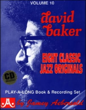 Volume 10 - David Baker - METHODE AEBERSOLD - laflutedepan.com