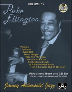 Volume 12 - Duke Ellington METHODE AEBERSOLD Partition laflutedepan