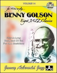 METHODE AEBERSOLD - Volume 14 - Benny Golson - Partition - di-arezzo.fr