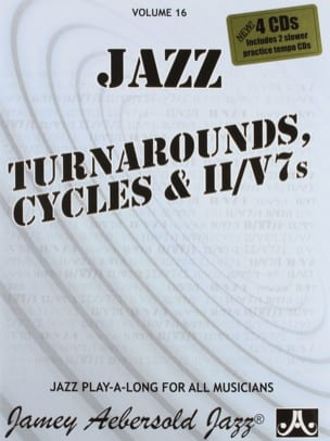 METHODE AEBERSOLD - Volume 16 - Turnarounds Cycles - II / V7's - Sheet Music - di-arezzo.com