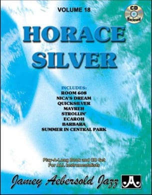 METHODE AEBERSOLD - Volume 18 - Horace Silver - Sheet Music - di-arezzo.com