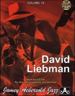 METHODE AEBERSOLD - Volume 19 - David Liebman - Sheet Music - di-arezzo.co.uk