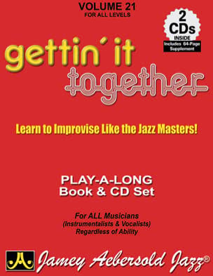 METHODE AEBERSOLD - Volume 21 - Gettin 'It Together - Sheet Music - di-arezzo.com
