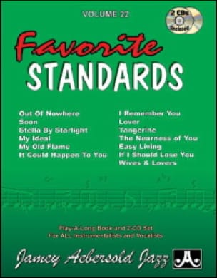 Volume 22 avec 2 CDs - Favorite Standards laflutedepan