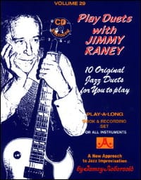 METHODE AEBERSOLD - Volume 29 - Play Duets With Jimmy Raney - Sheet Music - di-arezzo.co.uk