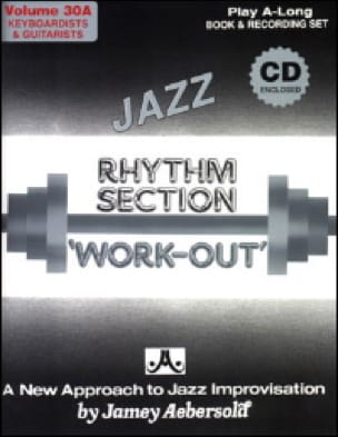 METHODE AEBERSOLD - Volume 30a - Rhythm Section Work Out - Partition - di-arezzo.fr