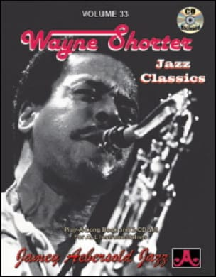 Volume 33 avec 2 CDs - Wayne Shorter METHODE AEBERSOLD laflutedepan