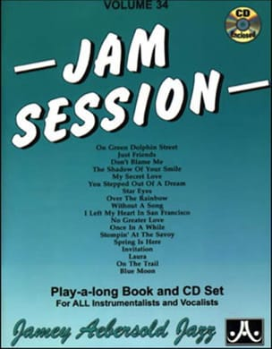 Volume 34 avec 2 CDs - Jam Session METHODE AEBERSOLD laflutedepan