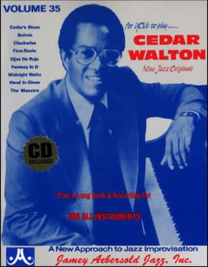 METHODE AEBERSOLD - Volume 35 - Cedar Walton - Sheet Music - di-arezzo.co.uk