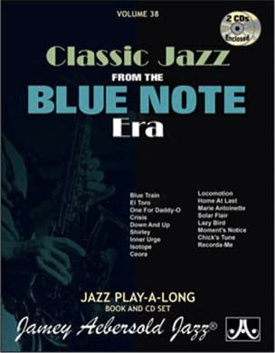 METHODE AEBERSOLD - Volume 38 with 2 CDs - Blue Note Classic Song - Sheet Music - di-arezzo.co.uk