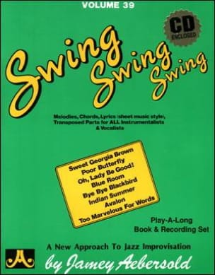 METHODE AEBERSOLD - Volume 39 - Swing Swing Swing - Sheet Music - di-arezzo.com