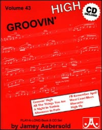 METHODE AEBERSOLD - Volume 43 - Groovin 'High - Sheet Music - di-arezzo.com