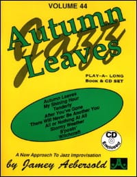Volume 44 - Autumn Leaves METHODE AEBERSOLD Partition laflutedepan