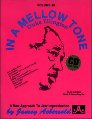 Volume 48 - In A Mellow Tone METHODE AEBERSOLD Partition laflutedepan