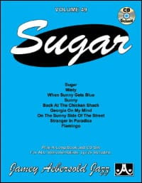 METHODE AEBERSOLD - Volume 49 - Sugar - Sheet Music - di-arezzo.co.uk