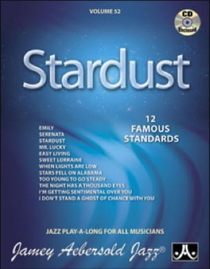 METHODE AEBERSOLD - Volume 52 - Stardust 12 Famoust standard - Sheet Music - di-arezzo.co.uk