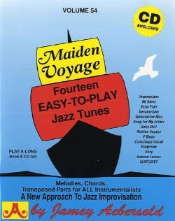Divers Auteurs / Aebersold Jamey - Volume 54 - Maiden Voyage - Sheet Music - di-arezzo.com