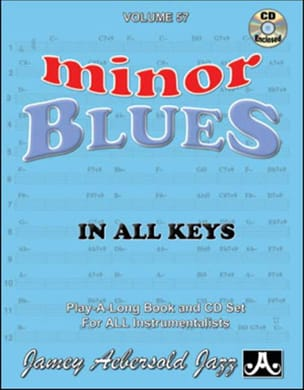Volume 57 - Minor Blues METHODE AEBERSOLD Partition laflutedepan