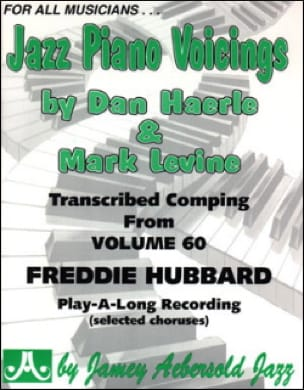 Jazz Piano Voicing Volume 60 METHODE AEBERSOLD Partition laflutedepan